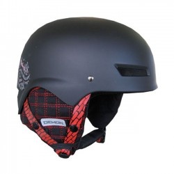Kask Lid Matte Black Demon...